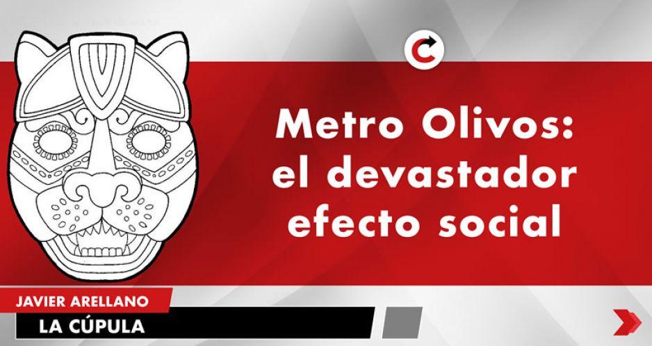 Metro Olivos: el devastador efecto social