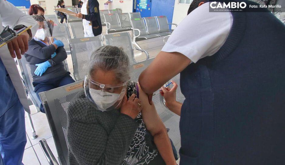 Desmiente CCE robo de datos personales durante vacunación de abuelitos