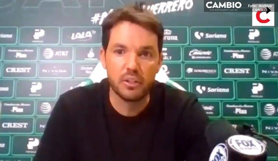 Afición sí puede soñar con un título; Larcamón tras calificar Club Puebla a la liguilla (VIDEO)