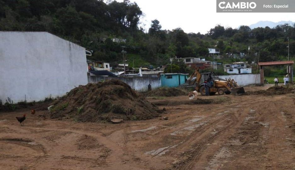 Secretaría de Infraestructura inicia remodelación y ampliación del Rastro Municipal en Teziutlán