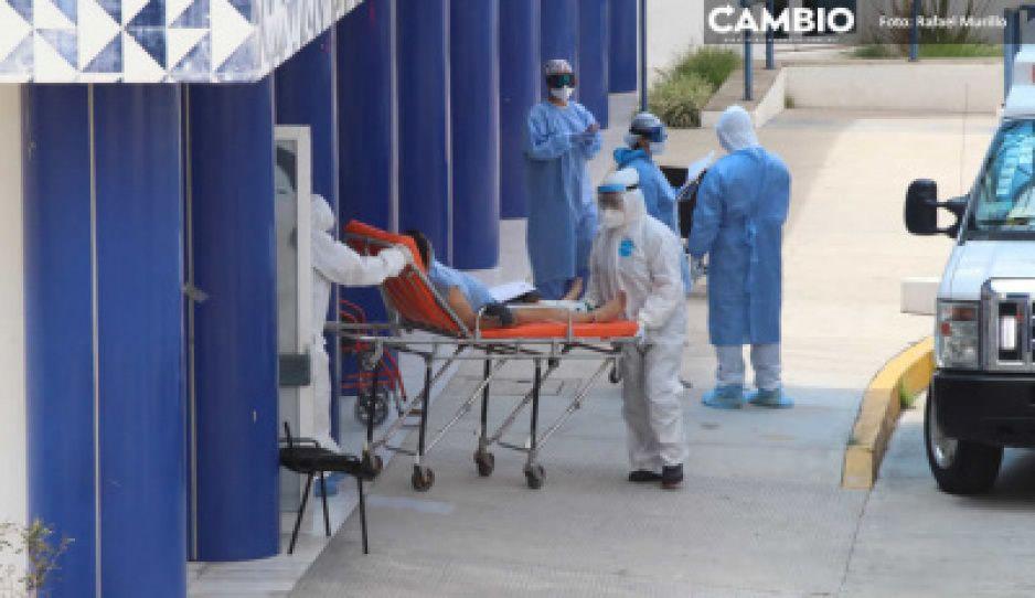Federación reporta 23 muertes y 78 contagios más en Puebla