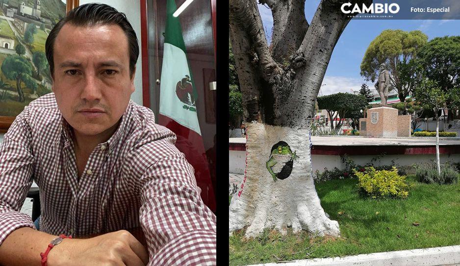 Alerta sísmica y alarmas de seguridad, son las prioridades de Nacho Mier para Tecamachalco