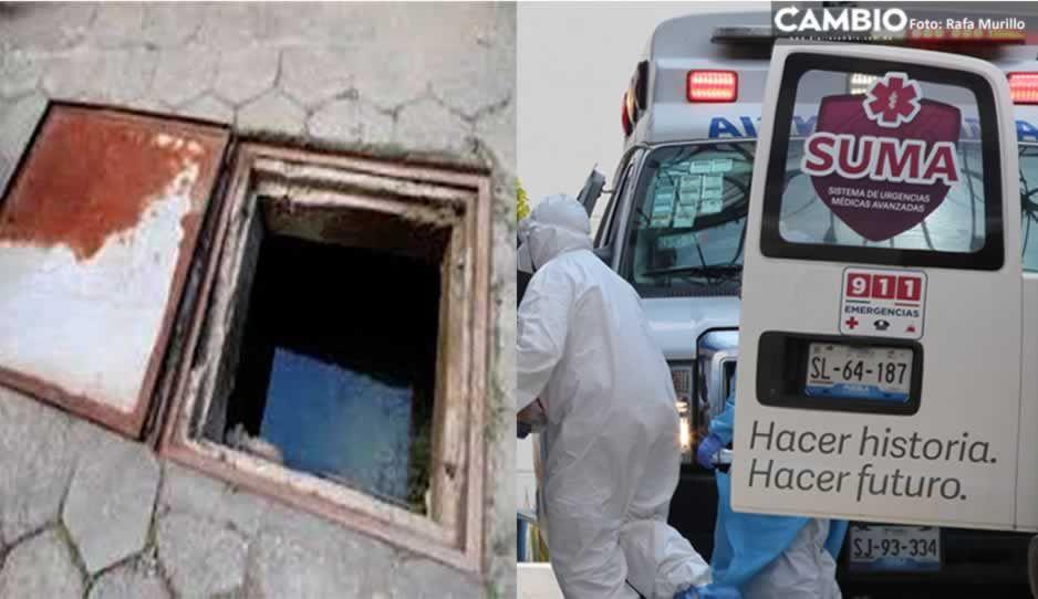 Muere niñita de 7 años ahogada dentro de una cisterna en Santa María Xonacatepec