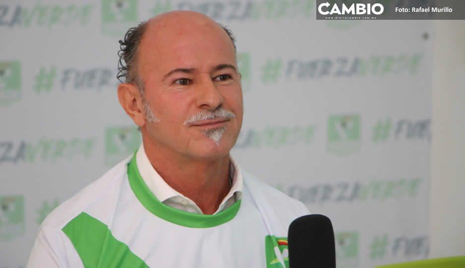 El Capi Ruiz Esparza chapulinea al PVEM: va en busca de la alcaldía (VIDEO)