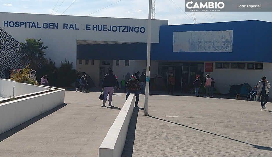 Escasez de medicinas en el Hospital de Huejotzingo orilla a las familias a regresar a casa con sus enfermos de COVID