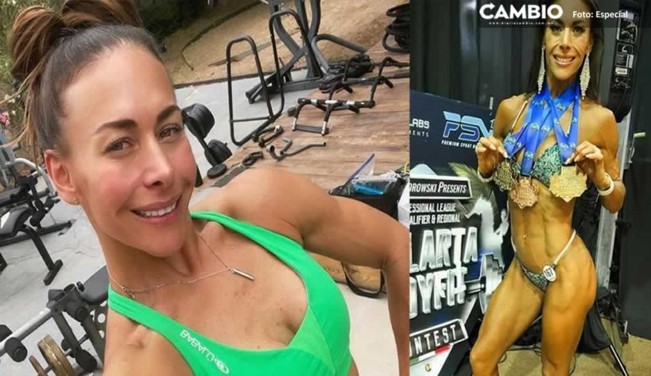 ¡Impresionante! Vanessa Guzmán luce musculosa figura en certamen de fisicoculturismo