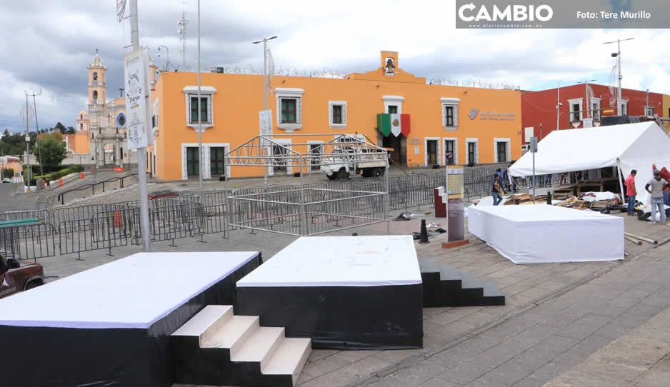 Mil personas tendrán acceso al Grito de Casa Aguayo y conciertos en El Alto
