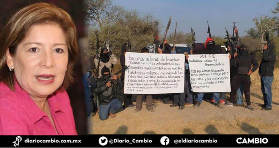 Incapacidad de Marisol detona autodefensas en Tecamachalco