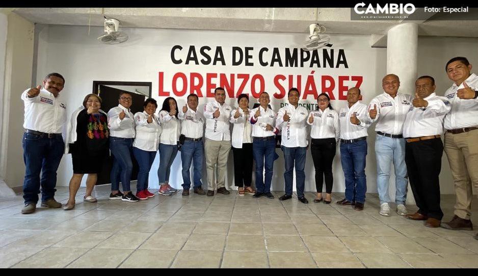 Lorenzo Suárez hace un llamado a la reconciliación política en Izúcar