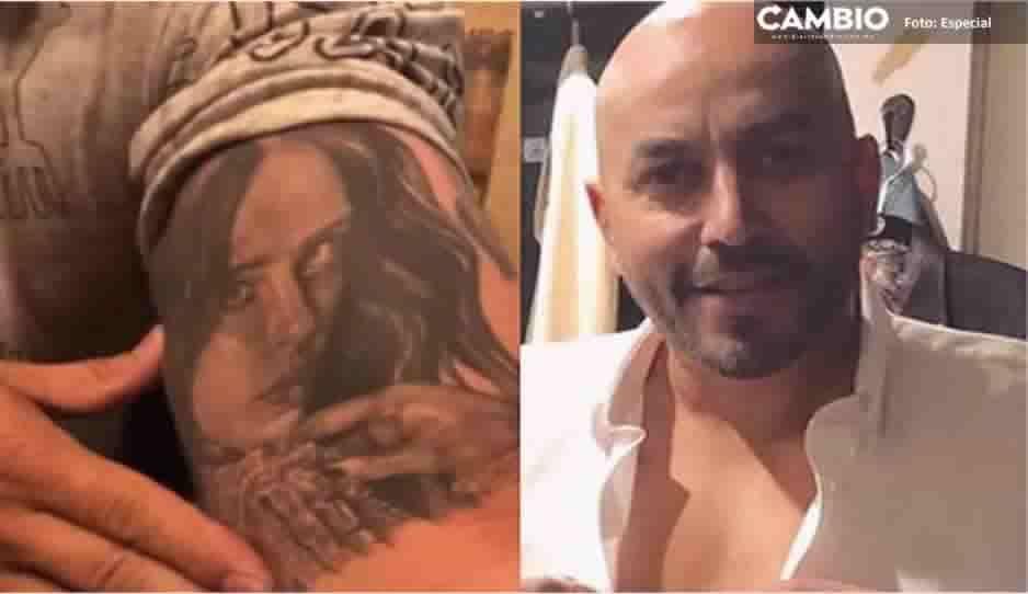 ¡Adiós recuerdo del amargo amor! Lupillo Rivera se borra el tatuaje de Belinda