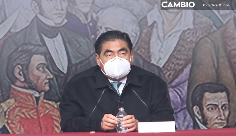 Propone Barbosa vacunar a todo el personal que participe en las elecciones (VIDEO)