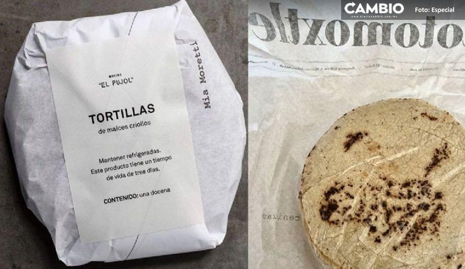 Costo de tortillas de lujoso restaurante Pujol incendia las redes... ¡aquí la historia!