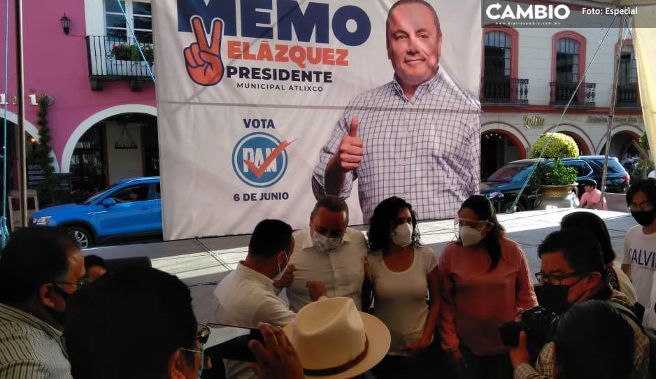 """""""Atlixco no puede perder el progreso ganado""""; asegura Guillermo Velázquez en arranque de campaña"""