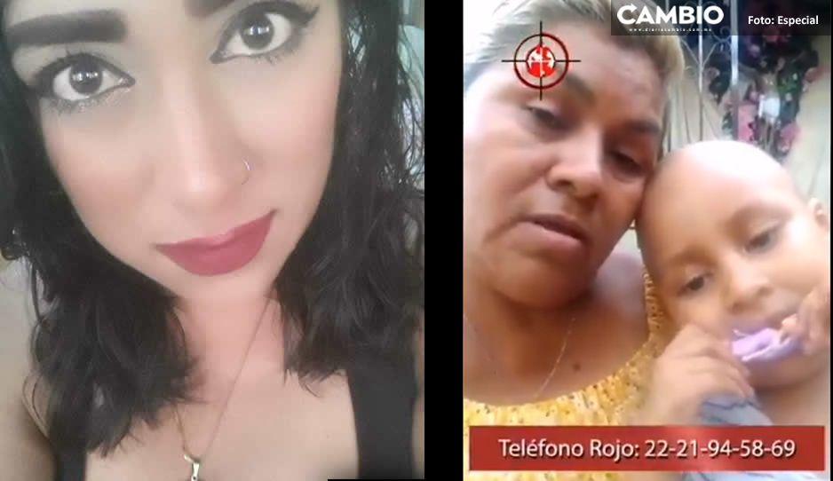 Madre e hijita de Marisol Luna piden el apoyo de Barbosa para encontrarla sana y salva (VIDEO)