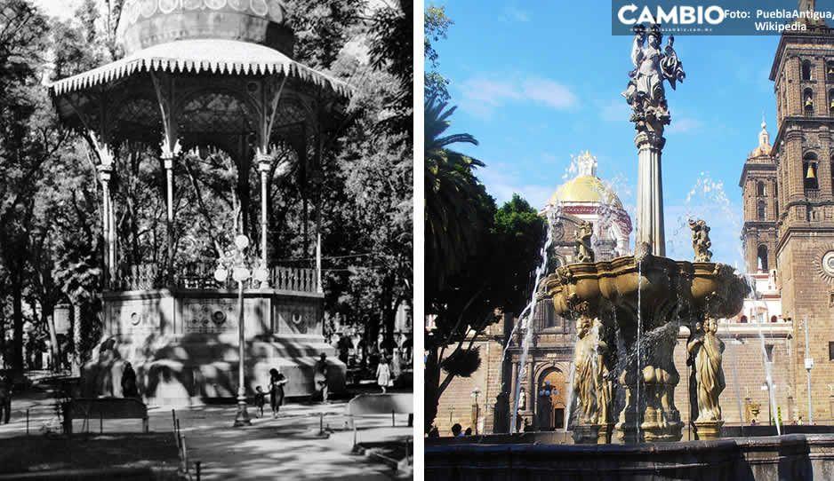 Increíbles FOTOGRAFÍAS del zócalo de Puebla a través del tiempo