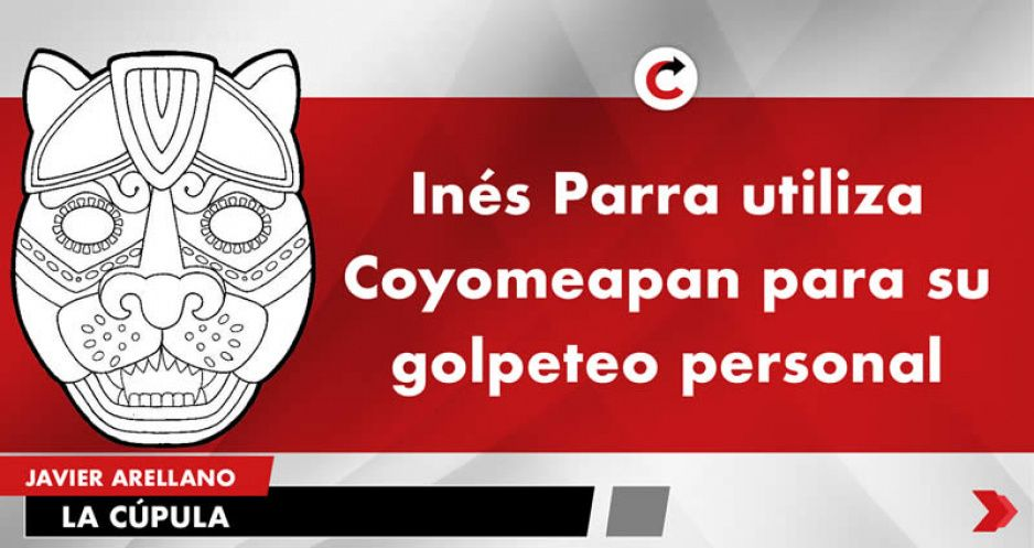 Inés Parra utiliza Coyomeapan para su golpeteo personal