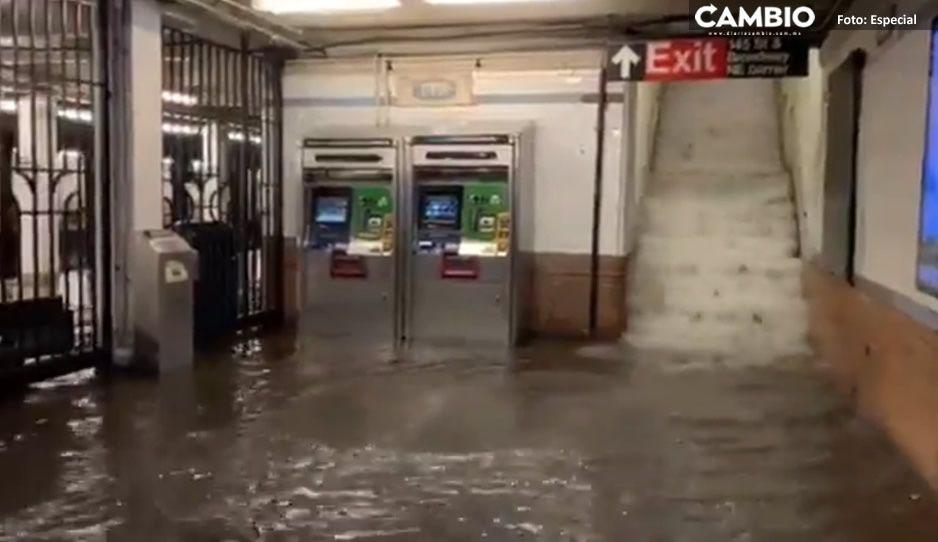 ¡De película! Así las escandalosas IMÁGENES de la inundación en Nueva York