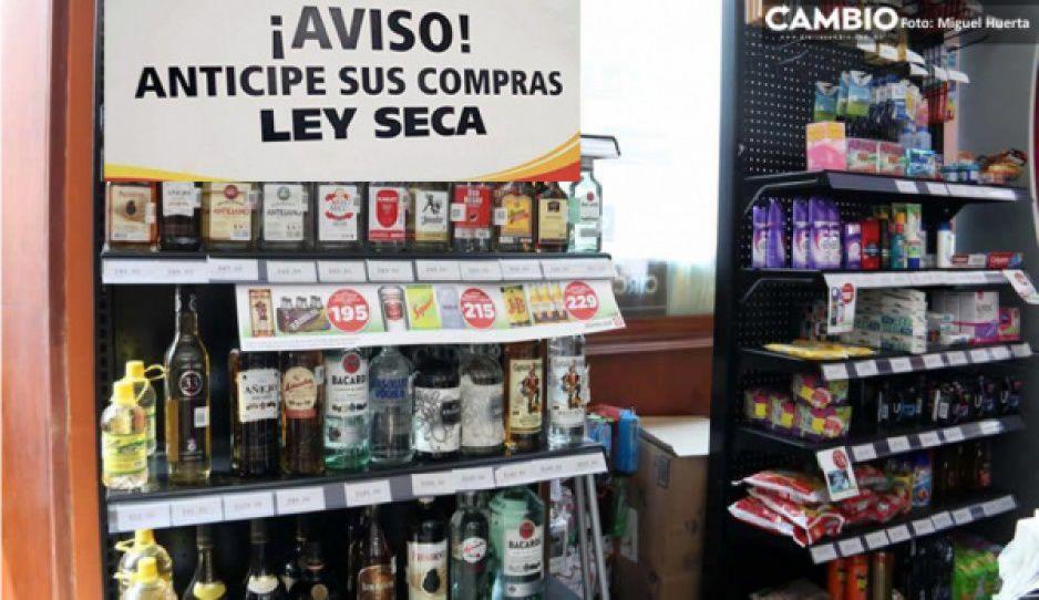 ¡Qué alivio! Ley seca en Puebla solo aplicará el domingo 1 de agosto