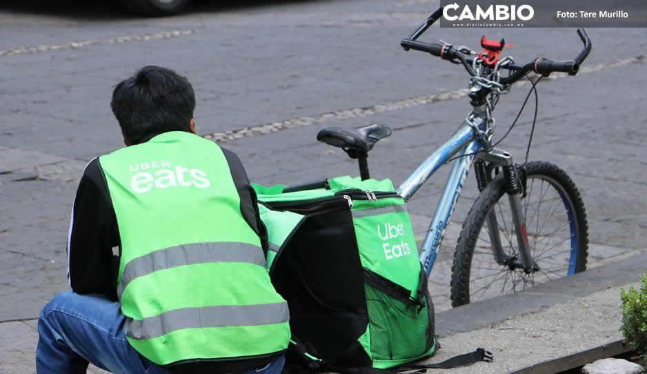 COVID arrolló con repartidores de Uber Eats: apenas juntan mil 500 a la semana