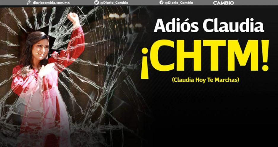 ¡Claudia Hoy Te Marchas!