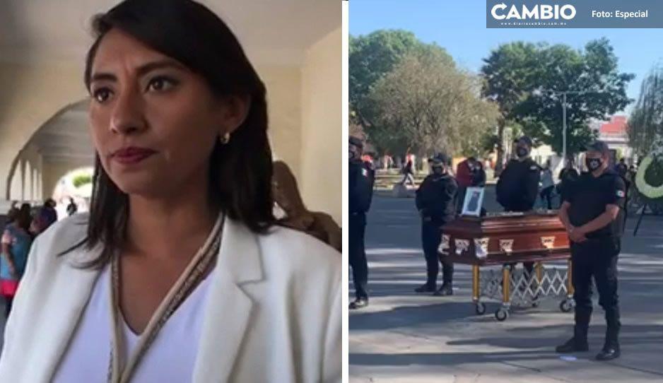Angélica Alvarado se cuelga medalla por detención de uno de los borrachos asesinos del policía