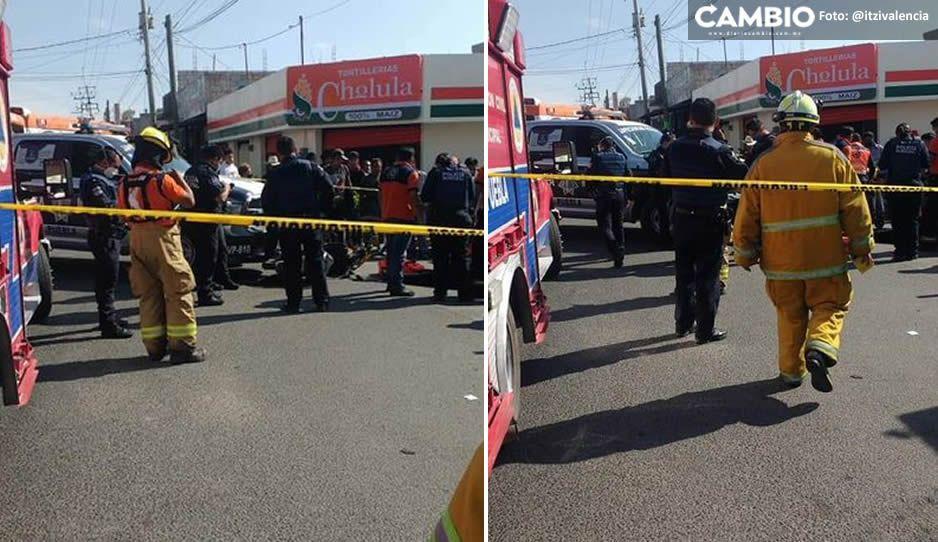 ¡Imprudentes! Policías municipales atropellan a madre y niña en Playas del Sur