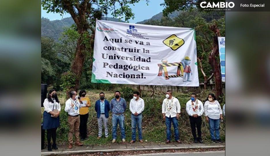 Ayuntamiento de Zapotitlán entrega predio para construir Universidad Pedagógica Nacional