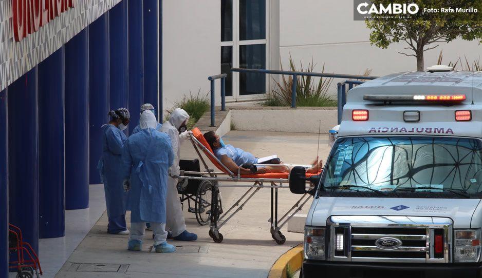 ¡Tercera oleada ataca en Puebla! Registran 189 casos nuevos de Covid