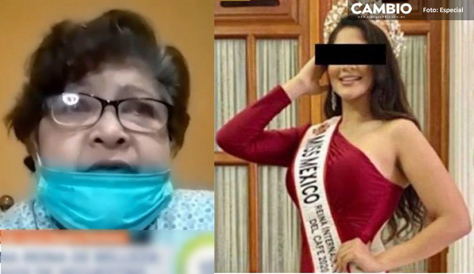 Mi hija no es delincuente: Mamá de Miss Oaxaca pide ayuda a AMLO para sacarla de la cárcel