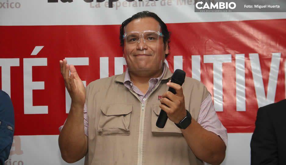 Pablo Salazar comanda revuelta en Morena: Invita a los inconformes a impugnar candidaturas