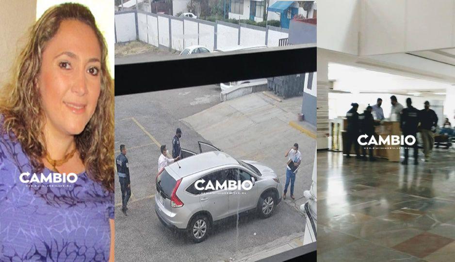SSP toma otra vez la Secretaría de Transporte: ahora van por la subsecretaria Mónica Mollinedo (VIDEO)