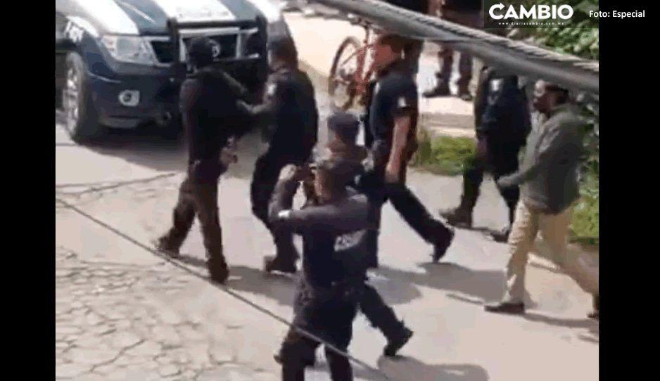 Vecinos del barrio de Santo Ángel capturan a ladrón y lo entregan a la policía (VIDEO)