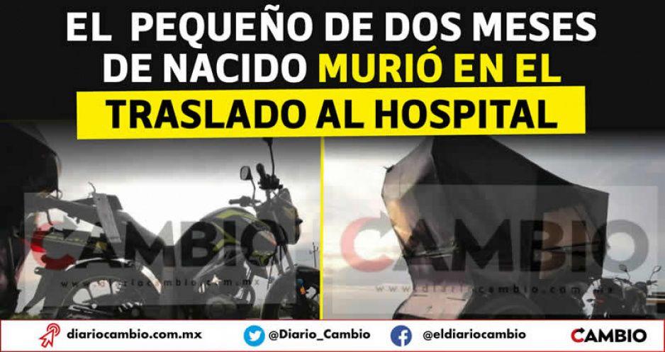 Mototaxis de la muerte: en Huaquechula muere un bebé tras volcarse la unidad en la que viajaba