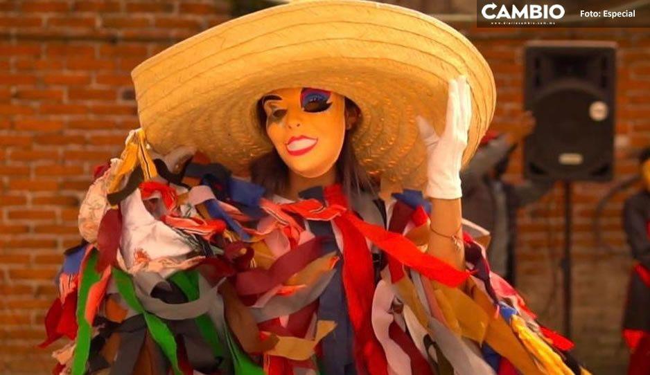 Texmelucan apoya las tradiciones de San Lucas Atoyatenco con carnaval virtual