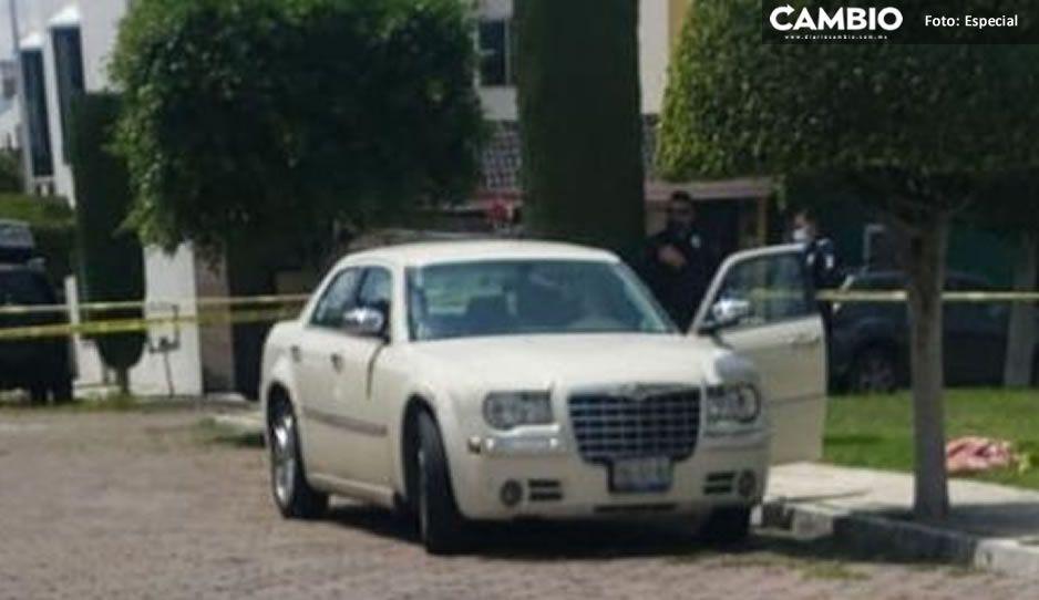 Con un disparo en la boca; abuelito se quita la vida al interior de su auto en la Francisco I. Madero