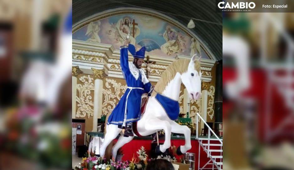 ¡Otra vez! Cancelan festejo a Santiago Apóstol en Izúcar por COVID