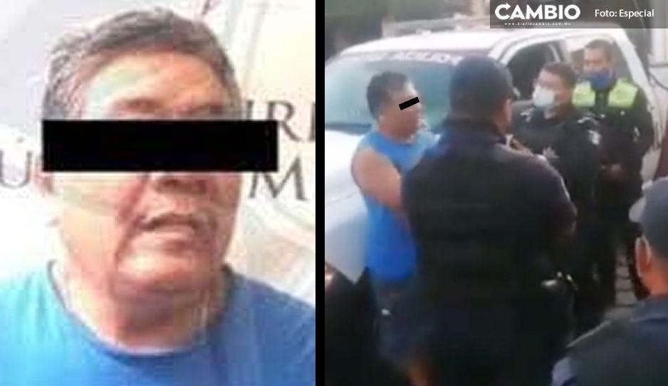 Así detuvieron a líder cañero en Izúcar; con chanclitas y bermudas, le hicieron manita de puerco (VIDEO)