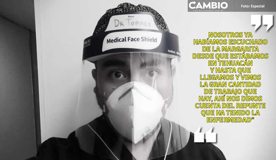 Enero fue horrible, todos los médicos atendían infectados, narra doctor de La Margarita (FOTOS)