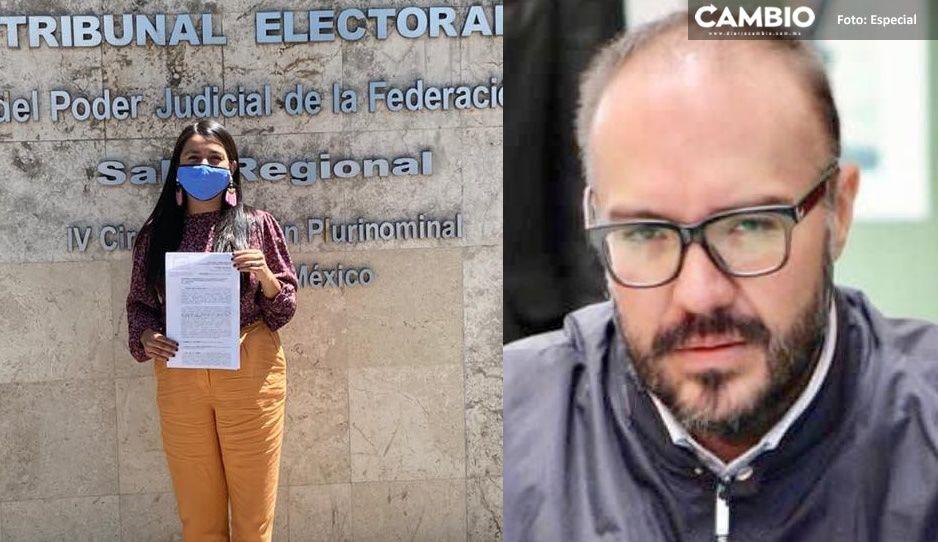 Vianey impugna ante el TEPJF candidatura de Mauricio Toledo