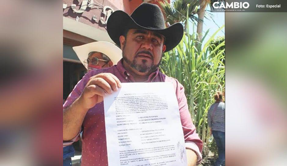 Eliseo Morales asumirá la dirigencia de asociación cañera en Izúcar el 31 de octubre