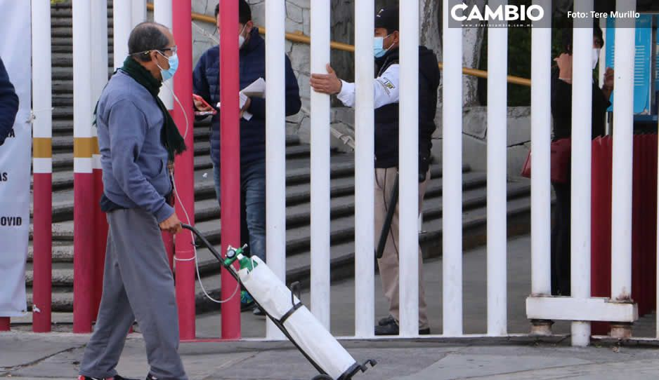 Se mantiene tendencia a la baja pero Puebla superó los 120 mil contagios en la pandemia