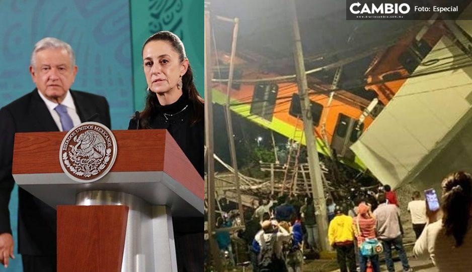 AMLO da el pésame a familias de fallecidos en Línea 12: no habrá impunidad para nadie
