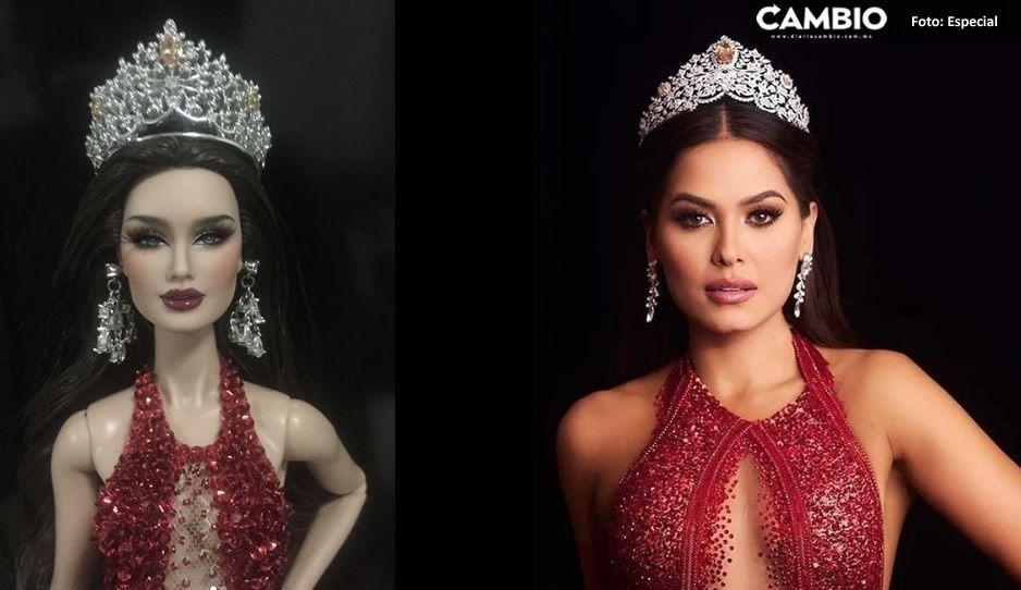 Crean la muñeca de Andrea Meza, Miss Universo; señalan a la diseñadora de racista (FOTO)