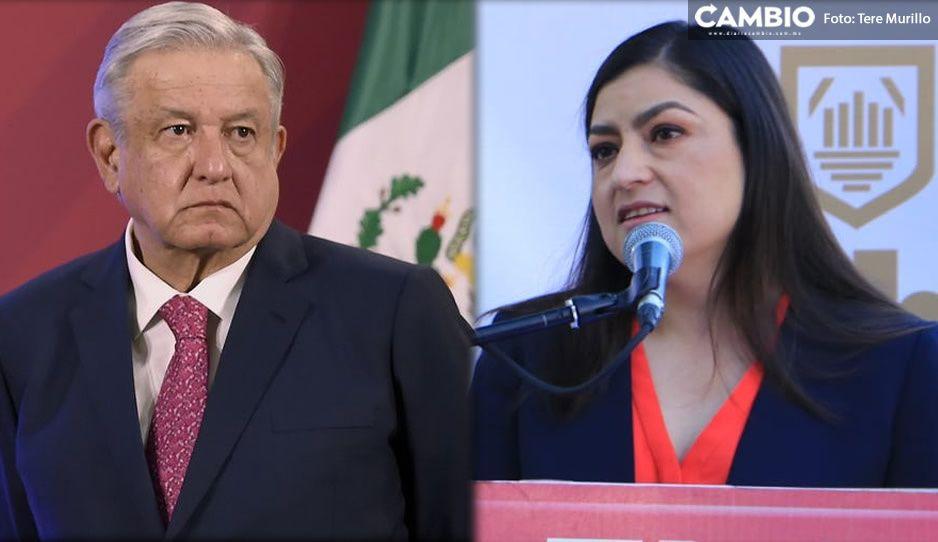 Claudia no pierde la esperanza; espera ser invitada a la mesa de seguridad de AMLO en Puebla