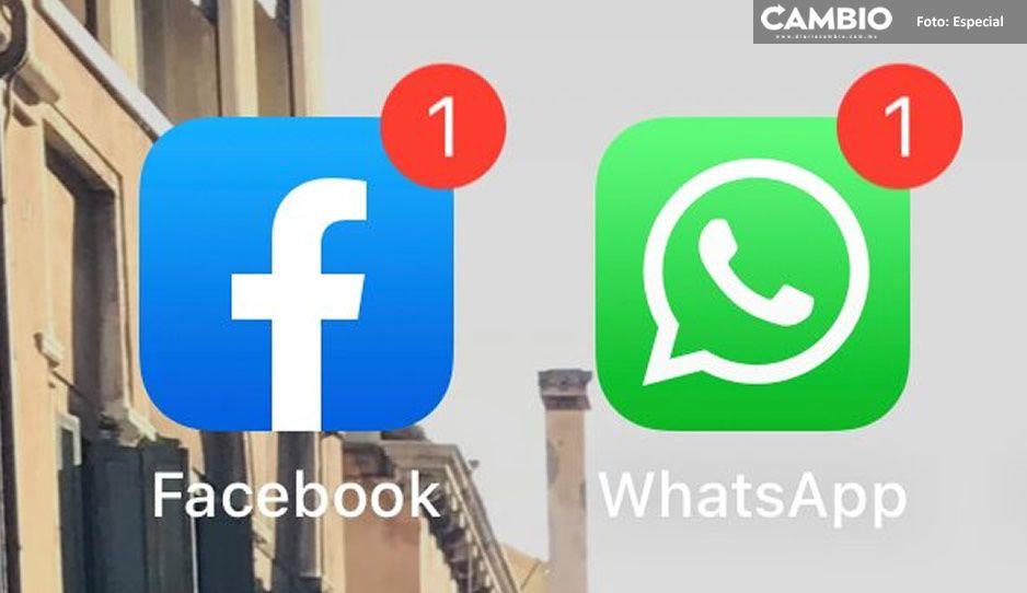 No es tu internet, Facebook y WhatsApp reportan fallan a nivel mundial