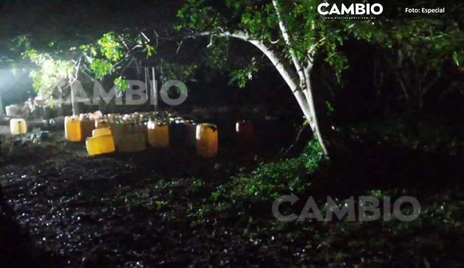Huachicoleros desatan balacera y son detenidos en Venustiano Carranza