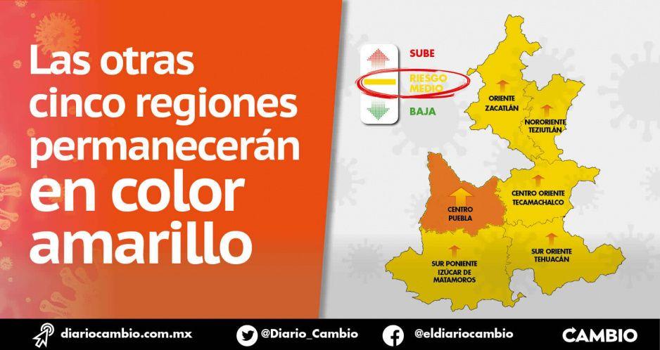 Zona metropolitana de Puebla vuelve a naranja en Semáforo COVID: tiene el 71 % de pacientes (VIDEO)