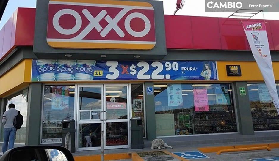 ¡No le pierden! Atracan OXXO a un mes de inaugurarlo en Bosques de Chapultepec