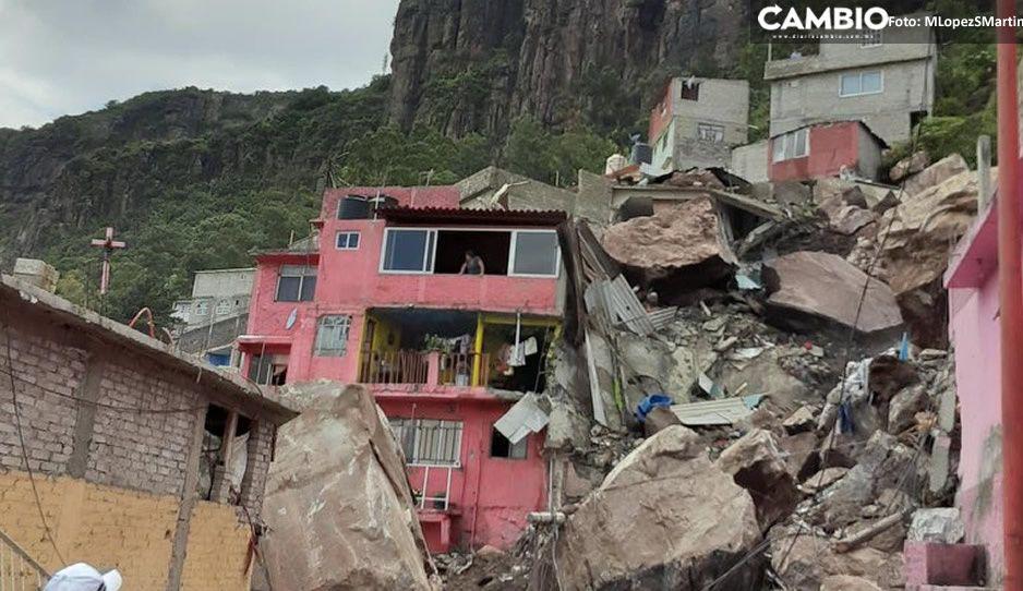 Derrumbe en el Cerro del Chiquihuite deja un muerto y al menos 10 desaparecidos (VIDEO)