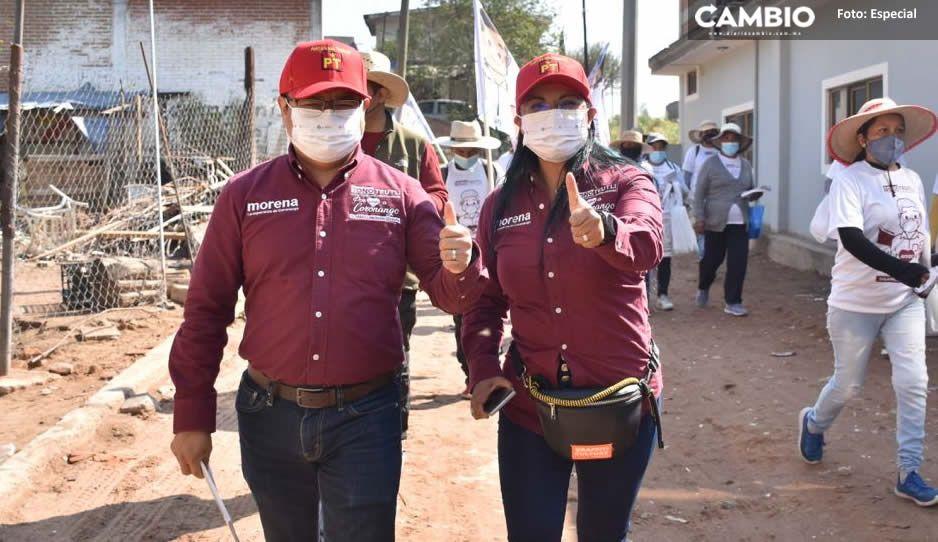 Aseguró Toño Teutli que consolidará el impulso al campo en Coronango